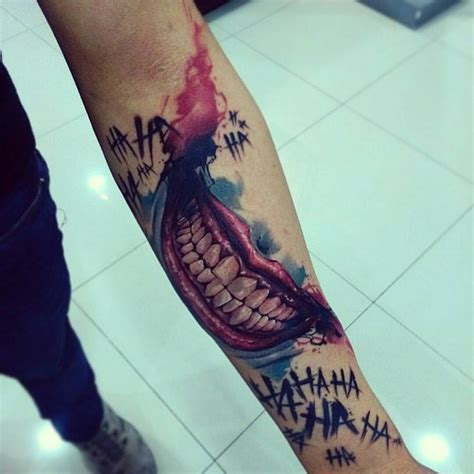 joker smile tattoo best 25 joker smile ideas on jared