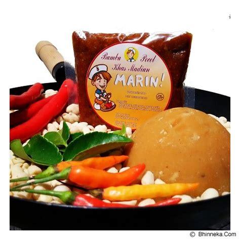Sambal Pecel Kacang Karangsari 200gr jual marin bumbu pecel khas madiun 200gr murah bhinneka