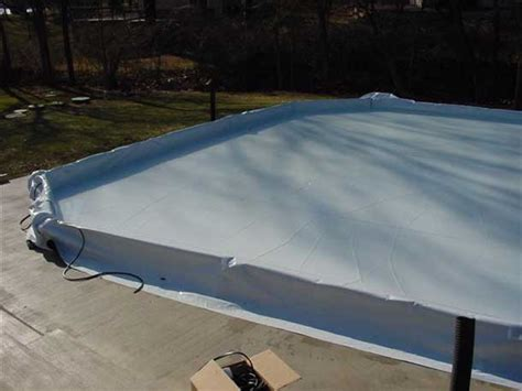 backyard ice rink liner backyard synthetic ice hockey rink liners rink chillers