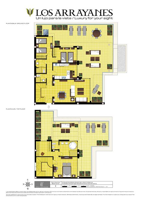 lax floor plan property for sale los arrayanes marbella nordica sales