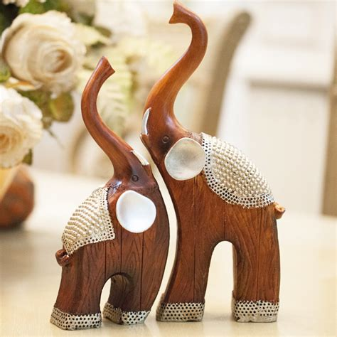 home decorators elephant her animal resin crafts lovers crafts living room decoration home decor elephant home furnishing