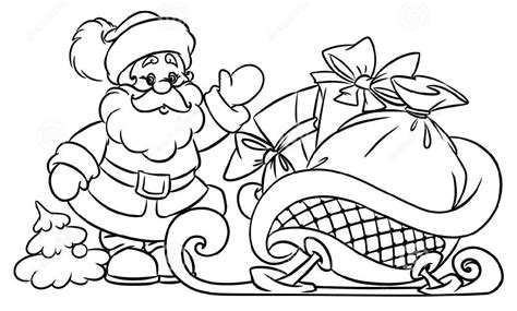 christmas drawing step by step and gift to gift cartoon santa claus drawing black and white great drawing