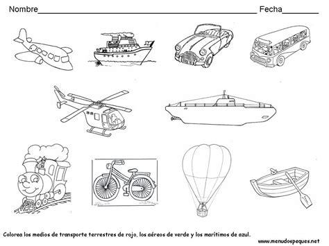 imagenes para colorear medios de transporte terrestre imagenes de medios de transporte terrestre para colorear