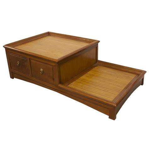 table de nuit chinoise table chinoise de salon 2 niveaux meubles labaiedhalong