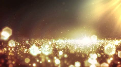 lights background footage background gold bokeh and lights