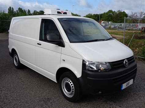 vw minivan 2014 2014 64 reg vw transporter swb start line freezer van