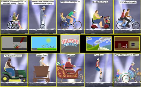 happy wheels full version all levels image gallery happy wheels all 25 characters