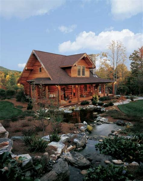 Log Cabin In Carolina by A Log Cabin In Carolina For Outdoor Log Home Living