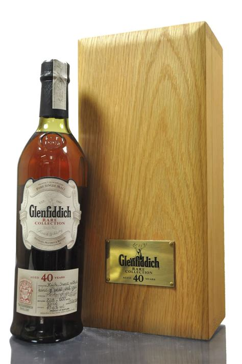 glenfiddich 40 year whisky auction
