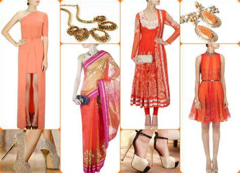 hues of orange navratri 2016 day 2 colour orange easy ways to look