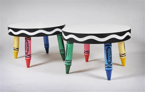 Crayola Table by Awesome Custom Pieces For Crayola Line Designs Inc