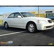2004 Acura RL 35 Premium White Pearl / Parchment Photo 2