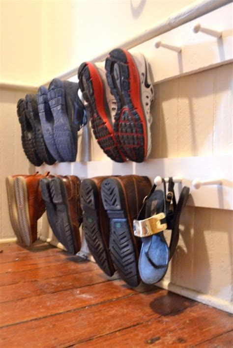 diy shoe racks 15 diy shoe storage solutions you can build at home