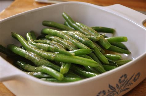 green bean green beans in vinaigrette living lou