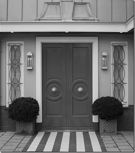 Grey Exterior Doors Charcoal Gray Entry Doors And Really Like The Striped Approach That Says Quot Welcome This Is A