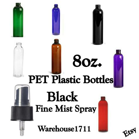 For Amara Spray Cologne Collection Untuk Anak Anak 8 oz boston plastic spray bottles black mist spray atomizer bottle color your