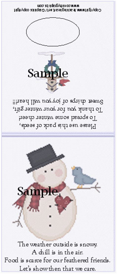 sock snowman bird seed poem snowman soup gift other gifts for teachers and students