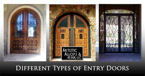 types  entry doors artistic alloys design llc