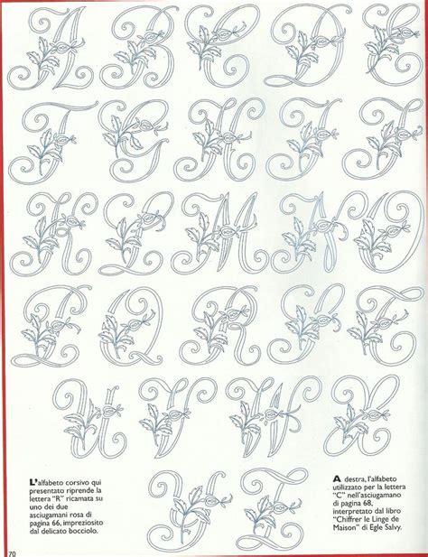 lettere da ricamare alfabeto cifrato cifre e lettere da ricamare