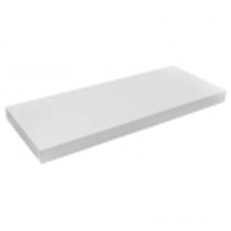 White Floating Shelf by Handy Shelf 600 X 240 X 40mm White Gloss Floating Shelf
