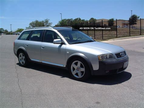 how cars run 2001 audi allroad regenerative braking 2001 audi allroad quattro