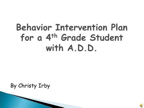Behavior Interventionist by Behavior Intervention Plan