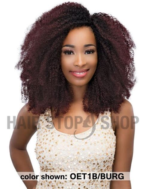how to crinkle a half and half weave janet collection human hair aliba crinkle 4b weave 18