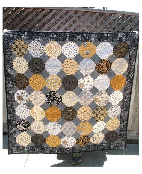 Bee Creative Quilt Patterns by Ye Olde Sweatshop Accuquilt Snowball Quilt In Bee