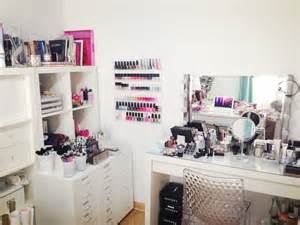 Vanity Dressing Table Ikea Mon Rangement Et Ma Collection De Maquillage Makeup
