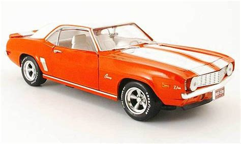 1969 Chevrolet Camaro Tuxedo Black Ertl 1 18 Evergreen Toys 1 Of 2200 1 18 ertl american orange 1969 camaro 302 z28 chevy