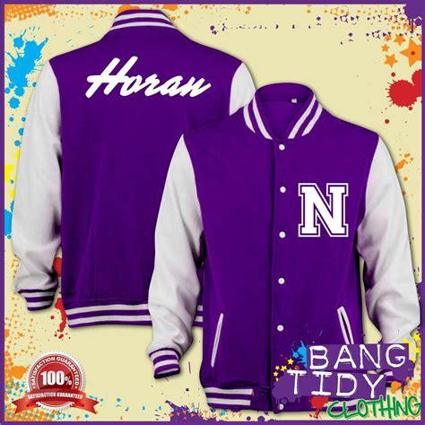 Varsity Wanna One Jaket Wanna One niall horan one direction 1d inspired varsity baseball college letterman jacket ebay