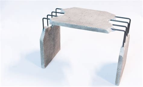 Table En Beton 771 by Table En Beton Table Reca Mati Res Grises Mobilier Beton