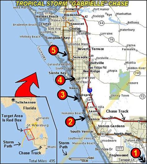 map of western florida coast map of florida west coast towns