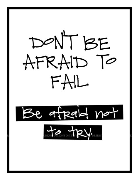 don t be afraid books don t be afraid to fail 8 5 x 11 classroom collection by