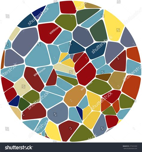 abstract mosaic pattern abstract colorful mosaic pattern stock vector illustration