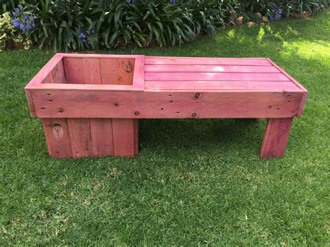 Garden Planter Bench by Garden Planter Bench Diy The Home Channel