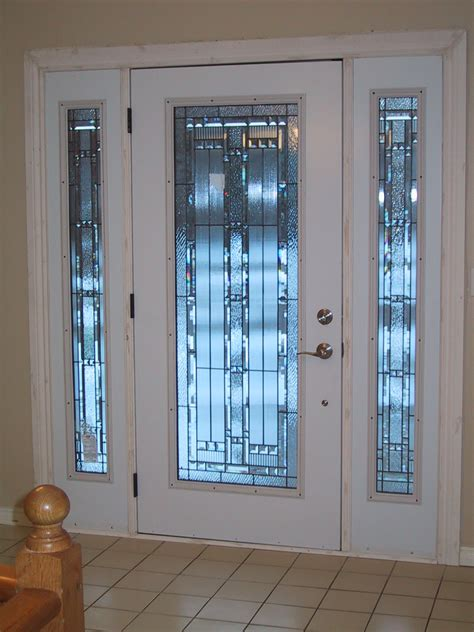frosted glass white front door design for home decofurnish