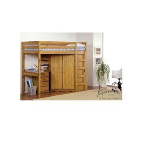 verona design rimini high sleeper bedroom set in antique