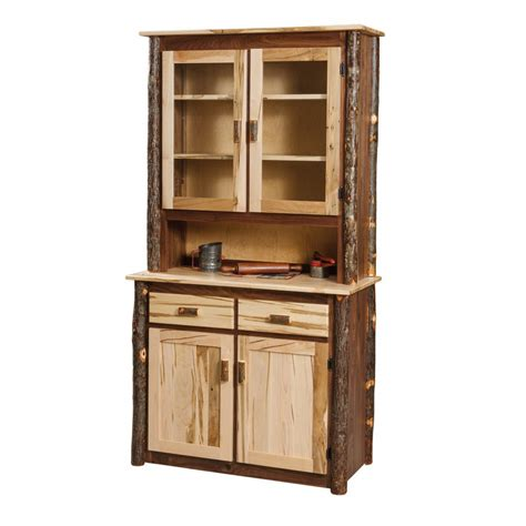 Rustic Hutch rustic hutch amish crafted furniture