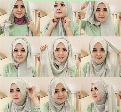 tutorial hijab arab simple 201 best images about hijab tutorials on pinterest