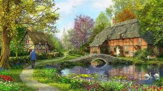 Lakeside Cottage Plans english cottage wallpapers 43 english cottage backgrounds