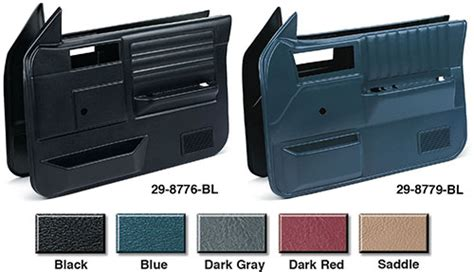S10 Door Panel by Replacement Front Door Panel Sets Models Without Power