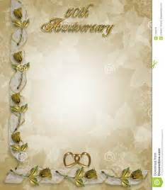 50th Anniversary Templates Free by 50th Wedding Anniversary Invitations Free Templates