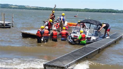 lake rescue boats 15 people rescued from boats jet ski on wind driven