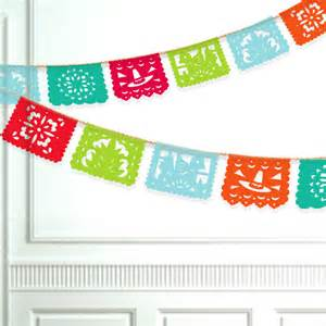 Class Reunion Decorations Fiesta Banner Printable Papel Picado By Paperfoxdesign On Etsy