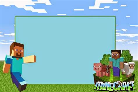 minecraft invitation template free minecraft free printable invitations minecraft