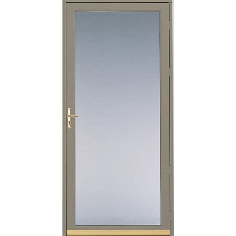 Screen Door Glass Shop Pella Putty View Safety Aluminum Glass And