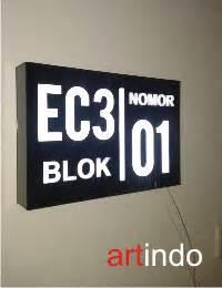 Nomor Nomer Rumah Acrylic Akrilik 1 category nomor rumah acrylic akrilik acrylic display