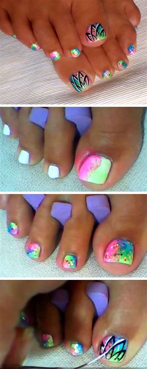 toe nail art designs for beginners photo gallery of with new toe