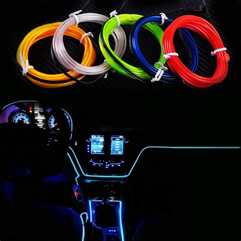 what led light strips or ropes are best to install under citall 2m el wire flexible led neon strip cold light strip